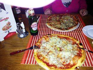 Pizza al Tonno in Kroatien