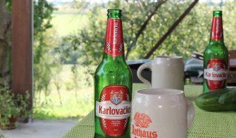 Karlovacko Bier und Rothaus Krug