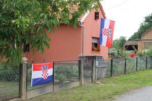 Kroatien Fahnen