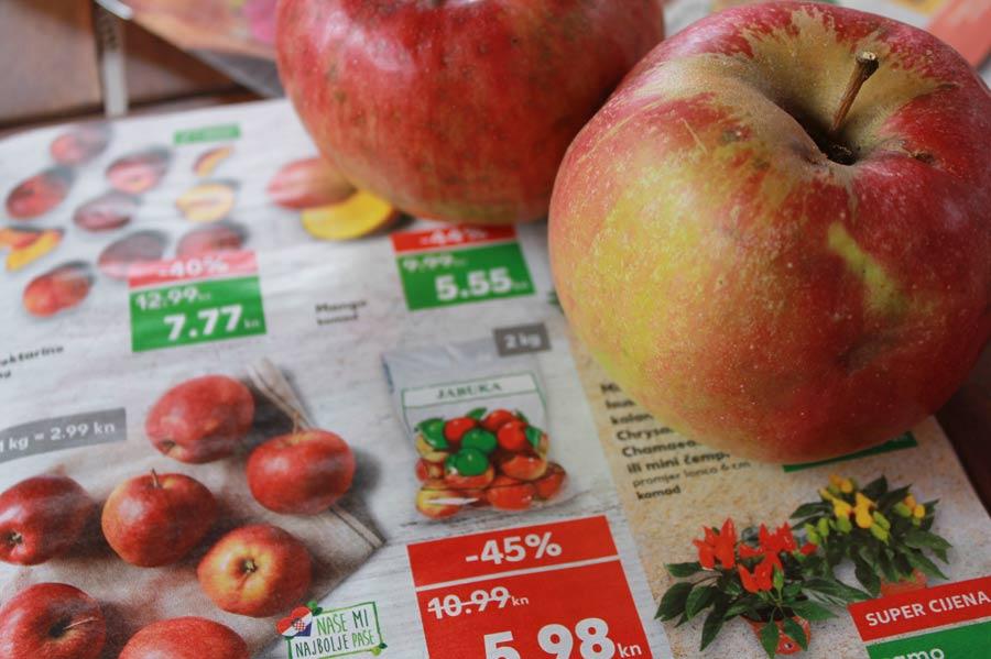 Äpfel Plodine
