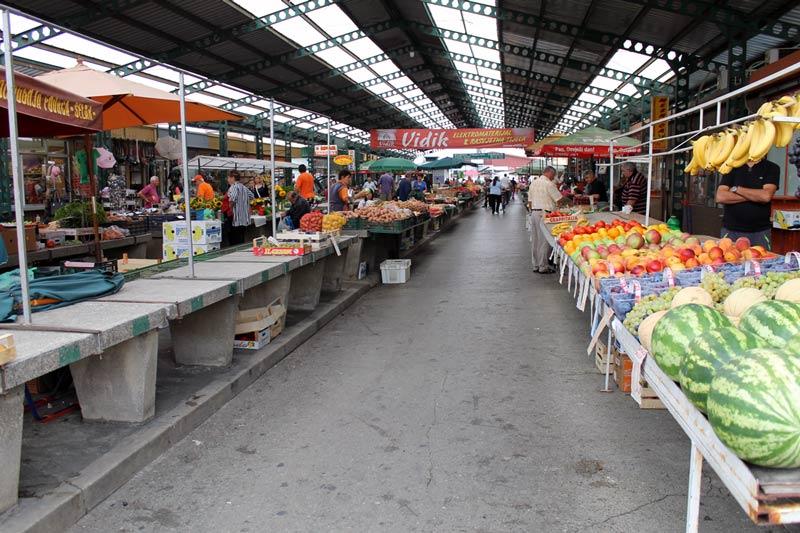 Markt im September