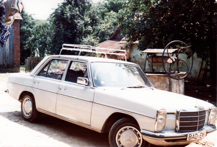 Mein Mercedes Diesel 1981 in Kroatien