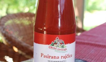 Passierte Tomaten aus Istrien