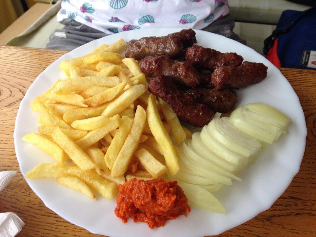 Absolut in Ordnung das typische Fastfood Gericht in Kroatien